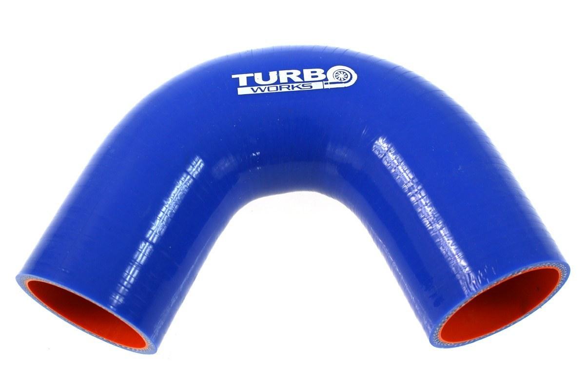 Kolanko 135st TurboWorks Pro Blue 28mm - GRUBYGARAGE - Sklep Tuningowy